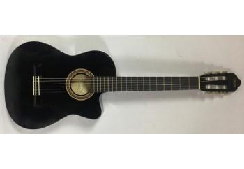 Valencia VC104CVT Siyah - Elektro Klasik Gitar