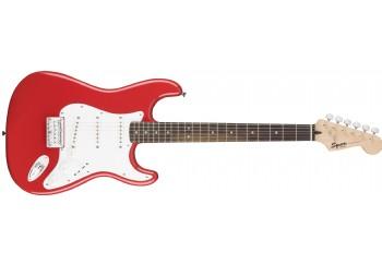 Squier Bullet Strat HT Fiesta Red with Indian Laurel - Elektro Gitar