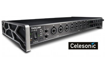 Tascam US-20x20 20-Channel USB Audio Interface / Digital Mixer - Ses Kartı