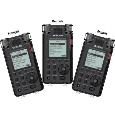 Tascam DR-100MKIII Professional Handheld Recorder