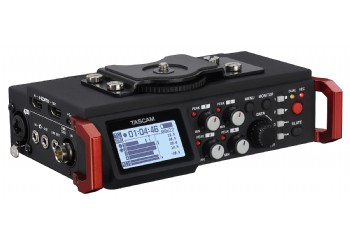 Tascam DR-701D Six-channel audio recorder for DSLR cameras