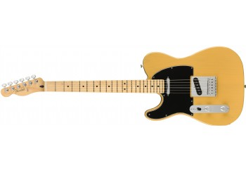 Fender Player Telecaster Left-Handed Butterscotch Blonde - Maple - Solak Elektro Gitar