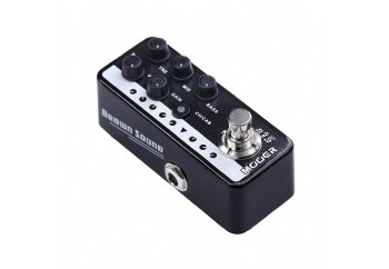 Mooer M015 Micro PreAMP Brown Sound (Peavey 515 Tipi) - Preamp Pedal