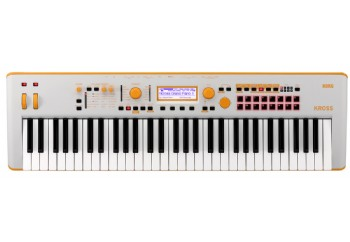 Korg KROSS 2 Neon 61-Key Workstation Limited Edition Orange/Gray