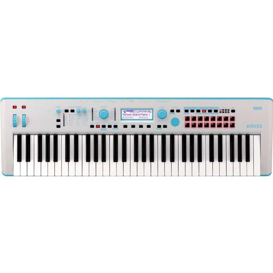 Korg KROSS 2 Neon 61-Key Workstation Limited Edition