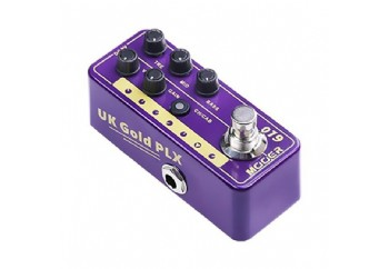 Mooer M019 Micro PreAMP UK Gold PLX (Marshall P Tip) - Preamp Pedal