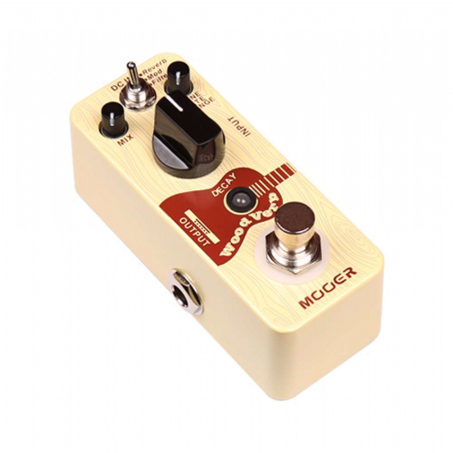 Mooer MRV3 Micro Series WoodVerb Acoustic Guitar Reverb