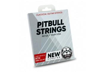 Pitbull Strings Silver Series SCG HT Takım Tel - Klasik Gitar Teli