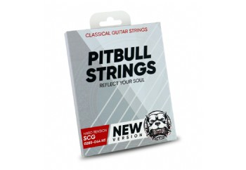 Pitbull Strings SILVER Series New Version 0285-044 High Tension Takım Tel - Klasik Gitar Teli