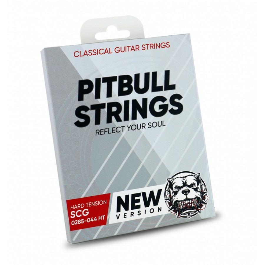 Pitbull Strings SILVER Series New Version 0285-044 High Tension