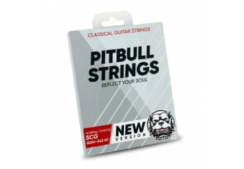 Pitbull Strings SILVER Series New Version 0280-043 Normal Tension Takım Tel - Klasik Gitar Teli