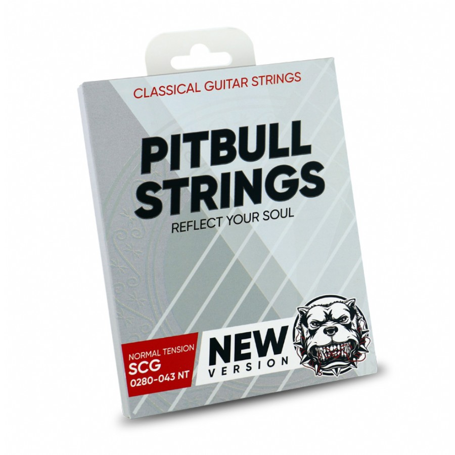 Pitbull Strings SILVER Series New Version 0280-043 Normal Tension