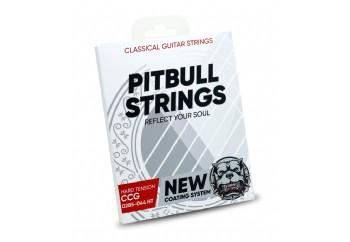 Pitbull Strings Coated Series CCG HT Takım Tel - Klasik Gitar Teli