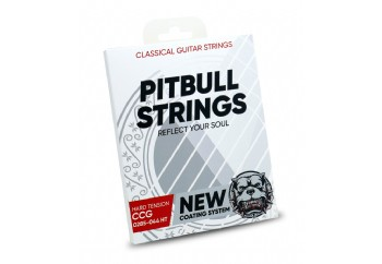 Pitbull Strings COATED New Version 0285-044 High Tension Takım Tel - Klasik Gitar Teli