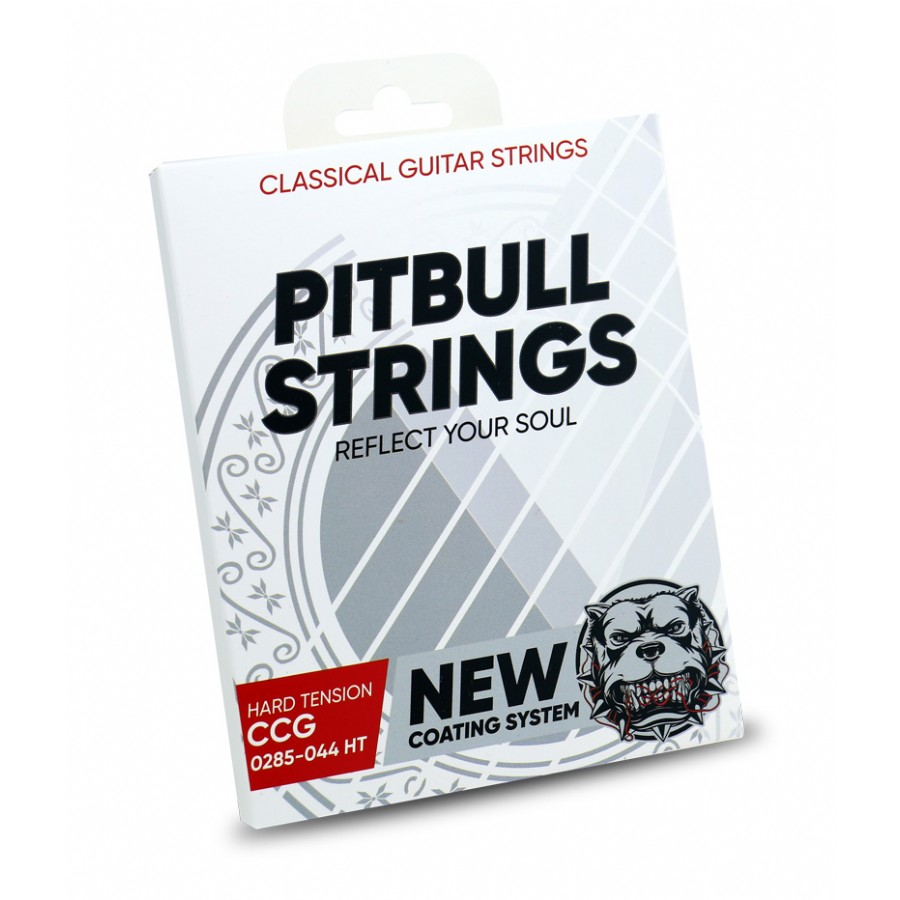 Pitbull Strings COATED New Version 0285-044 High Tension