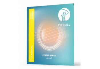 Pitbull Strings COATED New Version 0280-043 Normal Tension Takım Tel - Klasik Gitar Teli