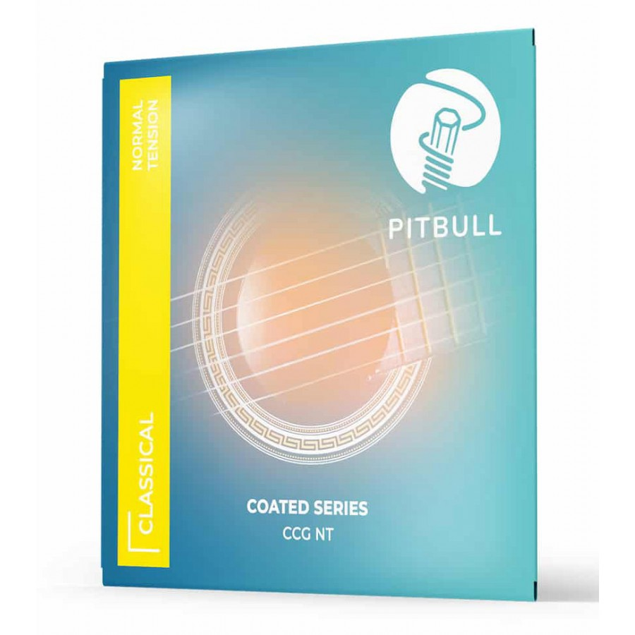 Pitbull Strings COATED New Version 0280-043 Normal Tension