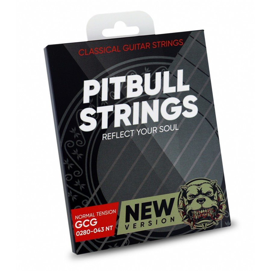 Pitbull Strings Gold New Version 0280-043 Normal Tension