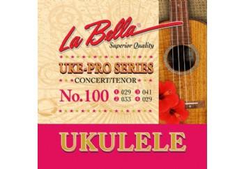 La Bella No.100 Takım Tel - Concert - Tenor Ukulele Teli