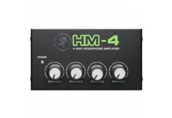 Mackie HM-4 Headphone Amplifier - Kulaklık Preamfisi