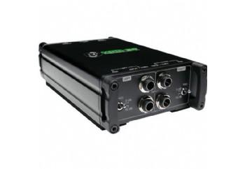 Mackie MDB-2P Stereo Passive Di Box - Stereo Pasif DI Box