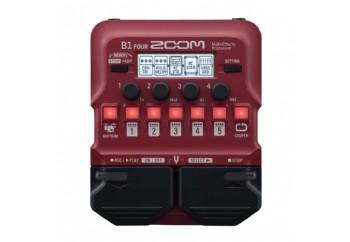 Zoom B1 FOUR - Bass Gitar Prosesörü
