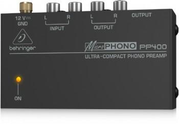 Behringer MICROPHONO PP400 - Kulaklık Preamfisi