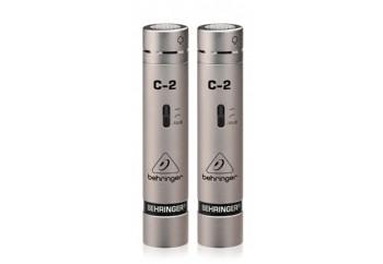 Behringer C-2 - 2 Eşlenmiş Stüdyo Condenser Mikrofon