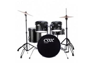 Cox CDS1 Black - Akustik Davul Seti