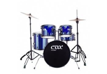 Cox CDS1 Blue - Akustik Davul Seti