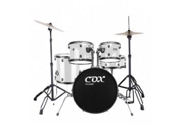 Cox CDS1 White - Akustik Davul Seti