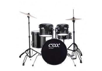 Cox JBJ1049A Black - Junior Akustik Davul Seti