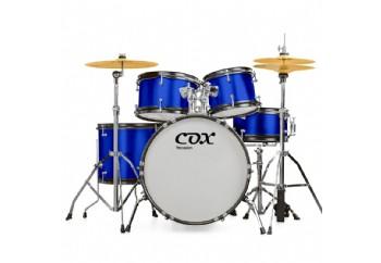 Cox JBJ1049A Blue - Junior Akustik Davul Seti