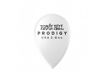 Ernie Ball P09336 / 2.0MM White Teardrop Prodigy 1 Adet - Pena