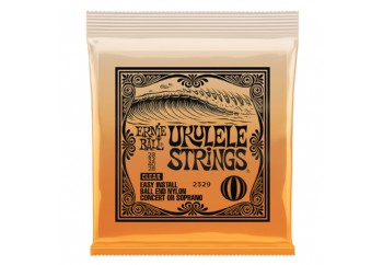Ernie Ball P02329 Ukulele Ball End Nylon Strings Clear - Concert/Soprano Ukulele Teli