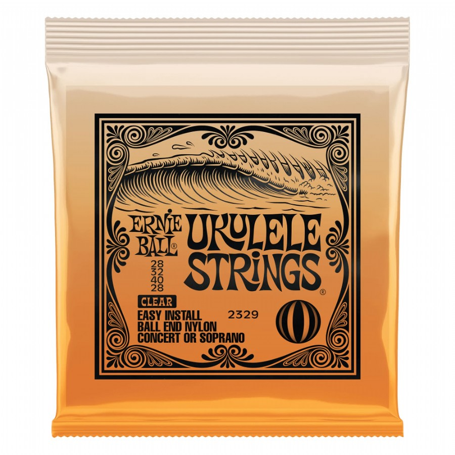 Ernie Ball P02329 Ukulele Ball End Nylon Strings Clear