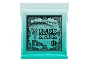Ernie Ball P02326 Ukulele Ball End Nylon Strings Black - Ukulele Teli