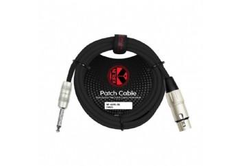KIRLIN MP-482PRBK XLR F - 1/4 Mono - Mikrofon Kablosu (3 mt)