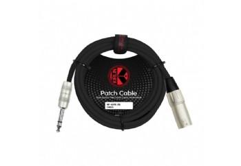 KIRLIN MP-483PRBK XLR M - 1/4 TRS - Mikrofon Kablosu (3 mt)