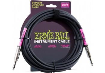 Ernie Ball 6046 20' Straight/Straight Instrument Cable - Enstrüman Kablosu (6 mt)