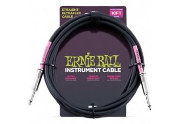 Ernie Ball 6048 10' Straight/Straight Instrument Cable - Enstrüman Kablosu (3 mt)