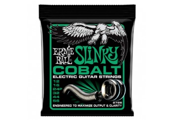 Ernie Ball 2726 Not Even Slinky Cobalt Electric Guitar Strings Takım Tel - Elektro Gitar Teli 012-56