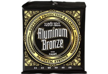 Ernie Ball 2568 Light Aluminum Bronze Acoustic Strings Takım Tel - Akustik Gitar teli 011-52