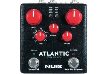 Nux NDR-5 Atlantic - Delay & Reverb Pedalı