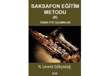 Saksafon Eğitim Metodu-2 Kitap - N. Levent Gökçedağ