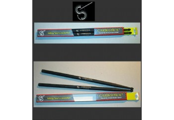 HD Drums 7A Carbosticks Silver - Baget