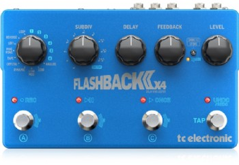 tc electronic Flashback 2X4 Delay - Delay Pedalı