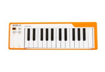 Arturia MicroLab Turuncu - MIDI Klavye - 25 Tuş