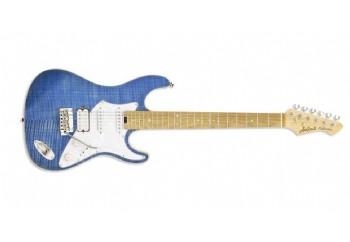 Aria 714-MK2 TQBL (Turquoise Blue) - Elektro Gitar