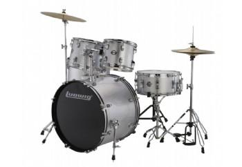 Ludwig Accent Fuse 5-Piece Drum Set Gümüş - Akustik Davul Seti